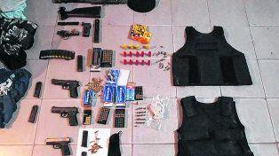 Armas pesadas. Una ametralladora