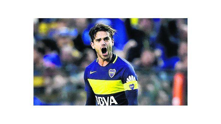 El xeneize Fernando Gago regresa al seleccionado. Esta tarde entrenará en Ezeiza.
