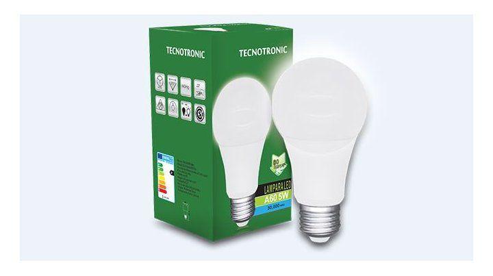 Tecnotronic Lámparas Led consumen menos, iluminan más