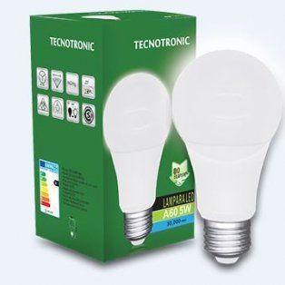tecnotronic lamparas led consumen menos, iluminan mas