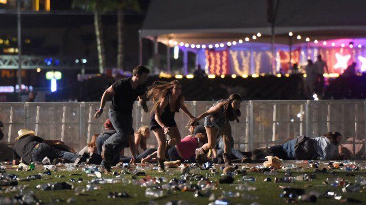 Todos van a morir hoy, fue la advertencia de una mujer antes del ataque en Las Vegas