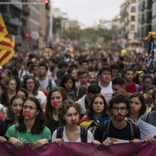 Organizadores afirman que el paro es más que una huelga general porque se pretende paralizar Cataluña.