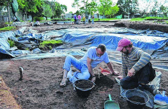extensión. Los arqueólogos ampliarán la zona de trabajo y profundizarán lo investigado anteriormente.