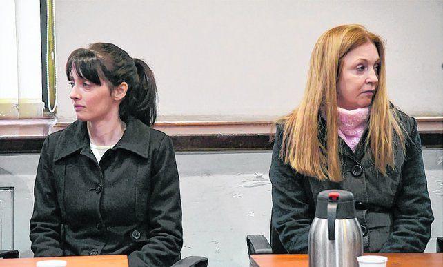 acusadas. Virginia Seguer y su madre