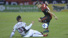 Intermitente. Joaquín Torres fue de mayor a menor en el empate de Newells en el Coloso.