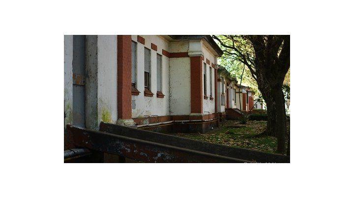 esma. La vieja enfermería del mayor centro clandestino de detención.