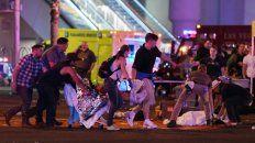 Trampa. El agresor, Stephen Paddock, disparó desde lo alto de un hotel y las víctimas no tenían dónde protegerse porque estaban en un espacio abierto.