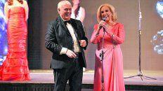 entre risas. Mirtha Legrand recordó sus tiempos en Rosario al recibir el premio junto a Bermejo y Gachy.