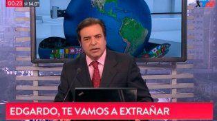 Dolor y afectuosos mensajes invadieron las redes sociales en memoria de Edgardo Antoñana
