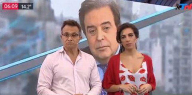 ¿Por qué te vas sin avisar?, lloró Sergio Lapegüe al recordar a Edgardo Antoñana