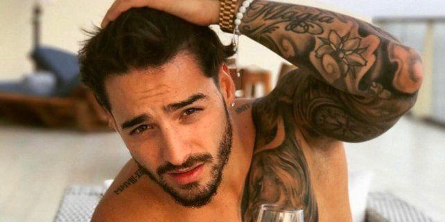 Maluma publicó una foto besando a una mujer y provocó todo tipo de comentarios en Instagram
