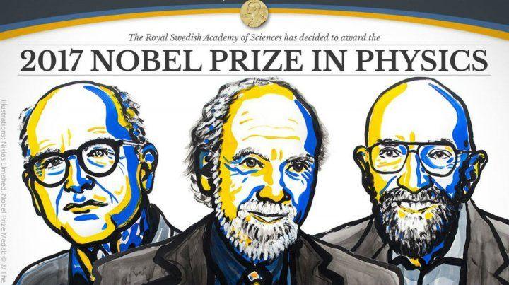 Nobel de Física para tres científicos que estudian las ondas gravitacionales