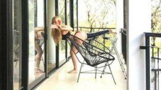 Graciela Alfano tuvo un insólito accidente con un perro y publica imágenes de su sexy rehabilitación