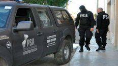 La Policía de Seguridad Aeroportuaria (PSA) realizó esta mañana una serie de allanamientos.