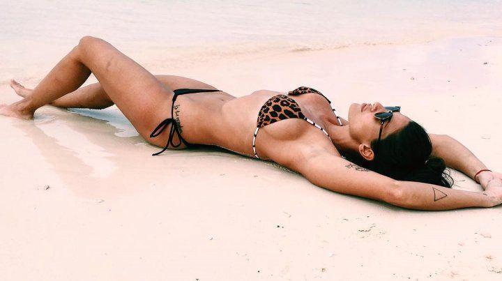 Ivana Nadal volvió a mostrar su lado más provocativo con una producción en bikini
