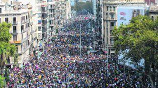 Conflicto social. En una Cataluña paralizada por una huelga