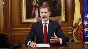 Con sus decisiones han vulnerado de manera sistemática las normas aprobadas legal y legítimamente, dijo Felipe VI.
