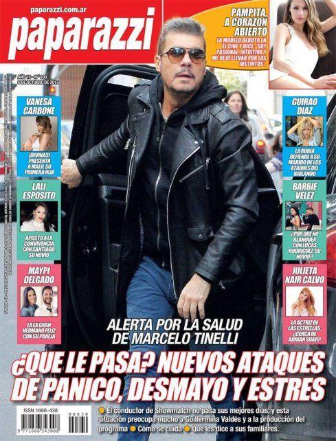 Tinelli descarg toda su bronca contra una revista de for Revistas de espectaculos