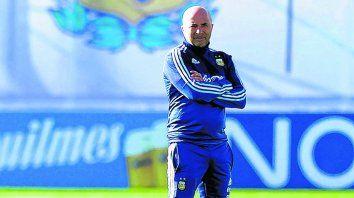 El Zurdo, en su laberinto. Jorge Sampaoli asumió el cargo de técnico del seleccionado argentino en junio pasado.