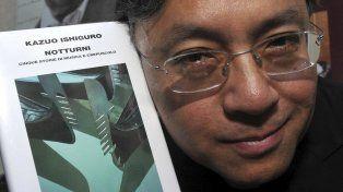 El Premio Nobel de Literatura fue para el escritor británico Kazuo Ishiguro
