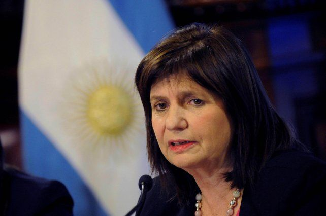El ministra de Seguridad de la Nación