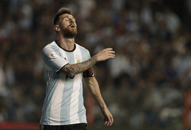 El lamento de Messi es el lamento de toda la Argentina.