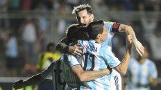 Deportes en el recuerdo. Di María, en noviembre del año pasado, fue el último que hizo un gol con la camiseta argentina más allá de Messi.