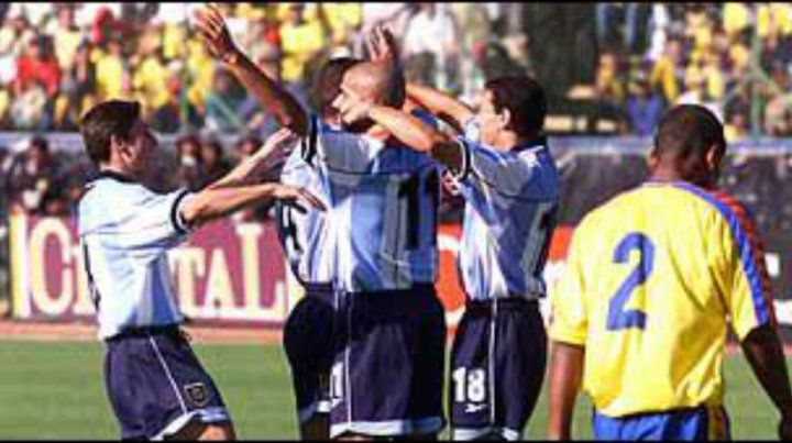 El 15 de agosto de 2001 la selección ganó por última vez en la altura de Quito con goles de Juan Sebastián Verón y Hernán Crespo.