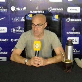 El entrenador canalla Pablo Montero dijo que, si su trabajo no satisface, no tiene problemas en dejar el club.