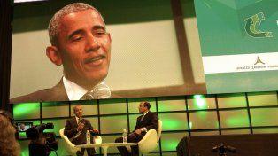 El expresidente de EEUU estuvo en Córdoba y mantuvo un encuentro con Lifschitz.