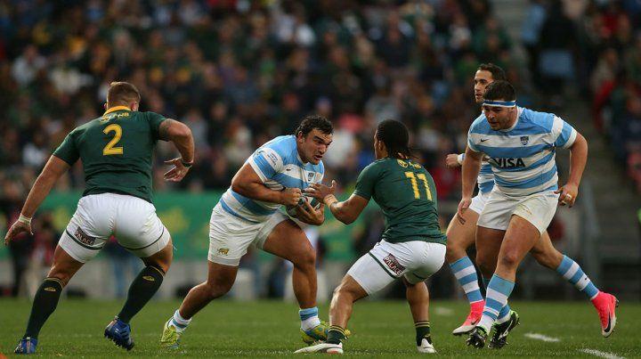 Mala racha. Creevy encara la marca de los Springboks. Los Pumas no ganaron ningún partido en el Rugby Championship.