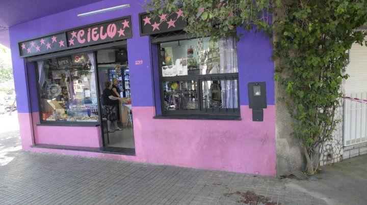 El local. Montevideo y Castellanos