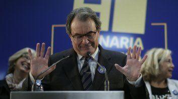 Artur Mas inició el proceso separatista cuando era titular de la Generalitat. Ahora pidió aplicar el freno.