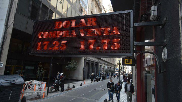 Alza. El Banco Central no intervino en el mercado cambiario.