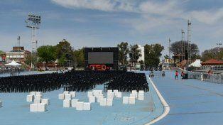 Todo listo en el Estadio Municipal para las conferencias de TEDxRosario.