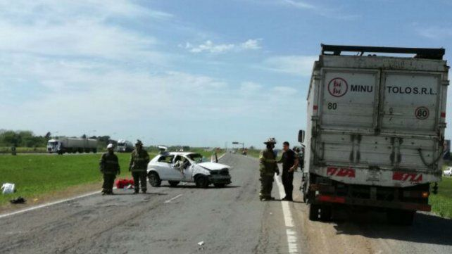 Identificaron a la mujer muerta en el accidente en la autopista, donde también hubo heridos