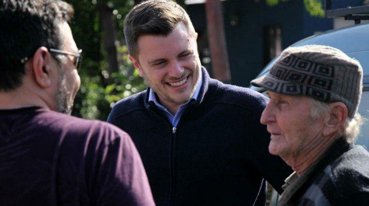 Proselitismo. Roy confía en llegar a más vecinos en el debate de hoy.
