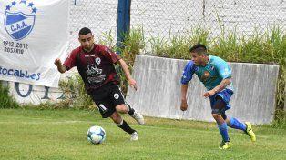 Marca y proyección. Cacho Andrada aportó tanto en defensa como en ataque.