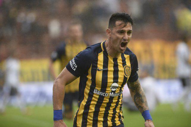 Grito. Zampedri llegó a Arroyito para hacer goles y ya lleva tres. Pero quiere que el equipo arranque.