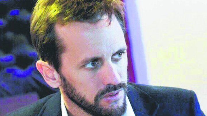 en carrera. Martín Rosúa quiere renovar su banca en el Palacio Vasallo.