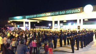 San Genaro tiene ahora una nueva estación terminal de ómnibus