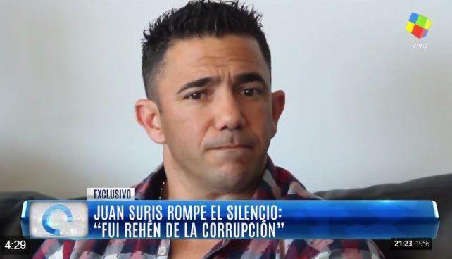 Juan Suris rompió el silencio y acusó a Daniel Scioli de falsificar facturas a su nombre