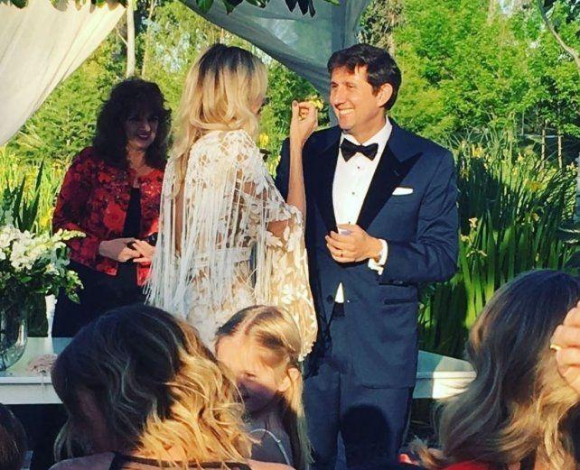 Las fotos del romántico casamiento de Juan Pablo Varsky y Lala Bruzoni