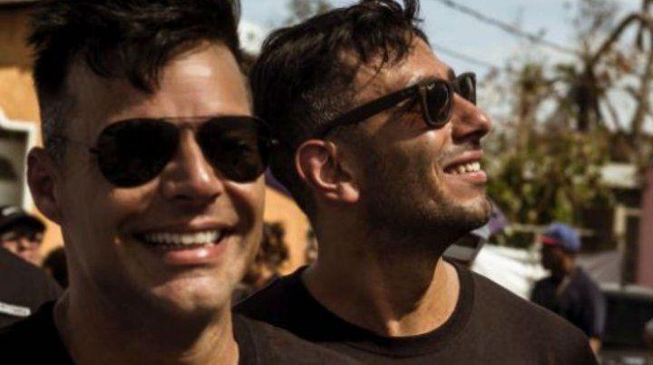 Se complicó la boda de Ricky Martin y su novio por culpa de Donald Trump