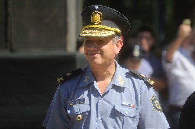 El comisario mayor Adrián Martínez fue detenidos sospechado de cohecho.