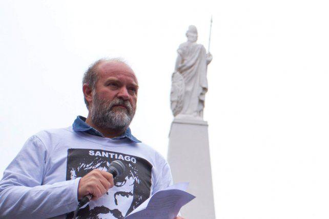La familia indicó que pocos días después de la desaparición de Santiago