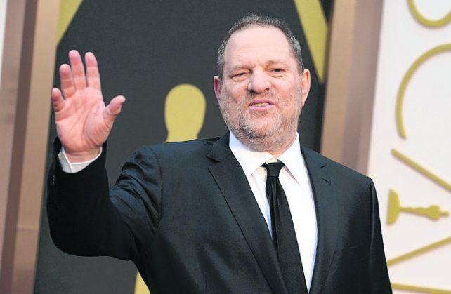 despedido. El productor Harvey Weinstein pedía favores sexuales.
