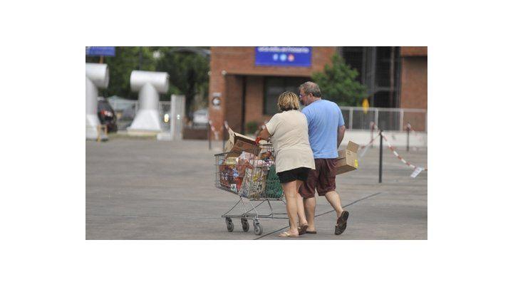consumo. La Fundación Mediterránea advirtió que la inflación no baja.