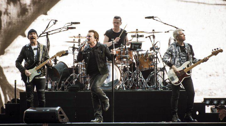 La banda irlandesa se presenta hoy y mañana en el Estadio Unico de La Plata.