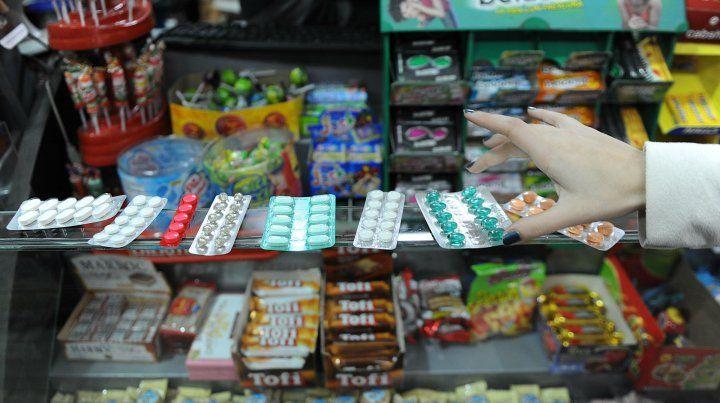 Medicamentos en kioscos y almacenes